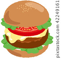 burger, burgers, hamburger 42249161