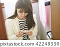 学校女孩高中学习 42249330