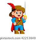 boy cartoon knight 42253649