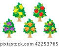 fruit, fruits, wood 42253765