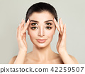 Woman with four eyes. Sale, double discount 42259507