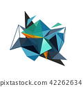 polygonal, vector, abstract 42262634