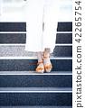 ผู้หญิงเท้า 42265754