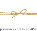 string or twine tied in a bow 42265859