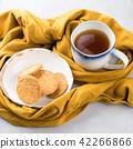 Winter comfort food concept with tea 42266866