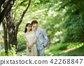 결혼식, 커플, 미소 42268847