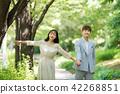 결혼식, 커플, 미소 42268851