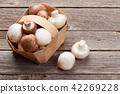 Champignon mushrooms 42269228
