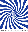 White and blue curved stripes ray burst style 42269458