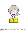 face vector person 42270341