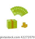 เวกเตอร์,เงินตรา,เงิน 42272070