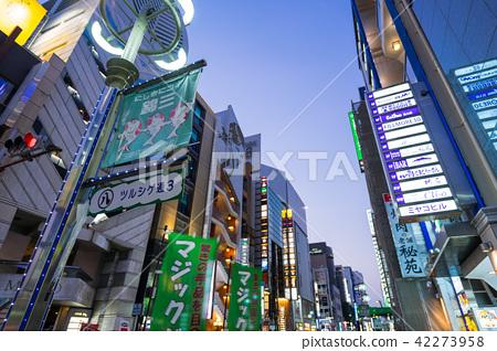 Nagoya-shi Naka-ku Sakae Nishiki 3-chome red light district Ninomiya Ise-cho Near intersection 42273958