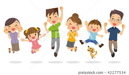 三代家庭跳 42277534