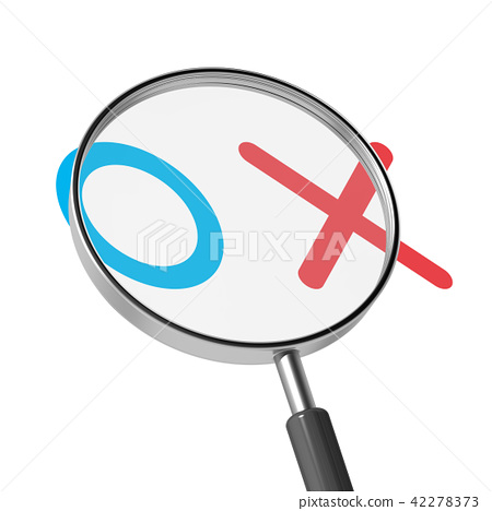 magnifying glass 42278373