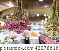 Dry flowers in a store 42278616