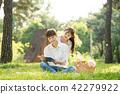 독서, 책 읽기, 책, 남자, 여자 42279922
