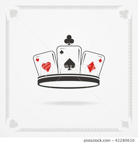 King crown symbol - Stock Illustration [42280610] - PIXTA
