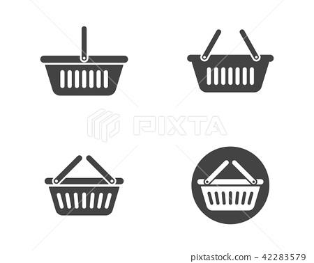 Basket vector icon 42283579