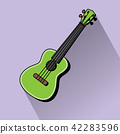 Concert Ukulele - Hawaiian string musical instrument 42283596