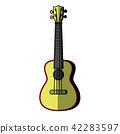 Concert Ukulele - Hawaiian string musical instrument 42283597