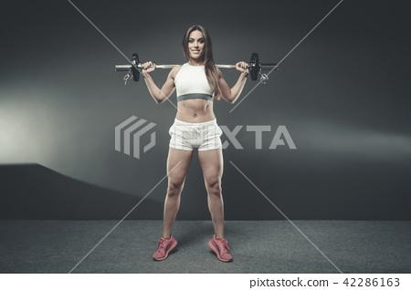 Sexy athletische Küken — foto 8