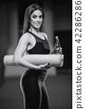 butt, fitness, gym 42286286