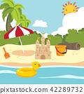 beach toy vector collection design 42289732