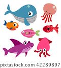 marine life vector collection design 42289897