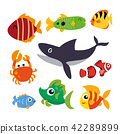 marine life vector collection design 42289899