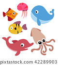 marine life vector collection design 42289903