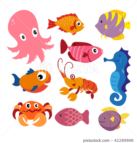marine life vector collection design 42289906
