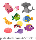 marine life vector collection design 42289913