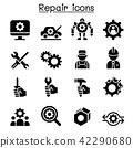 Repair , Fixing & maintenance icon set 42290680