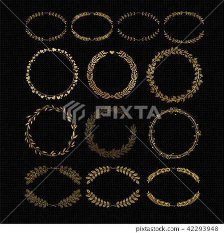Laurels and wreaths 42293948