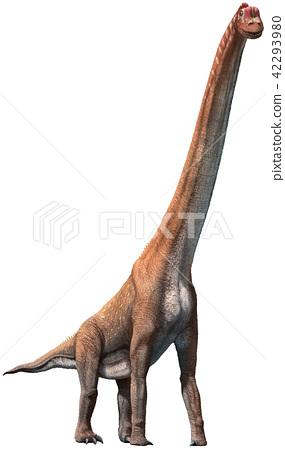 Giraffatitan 3D illustration 42293980