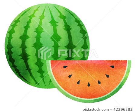 西瓜 水果 食品 42296282