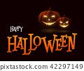 cartoon pumpkin silhouette 42297149