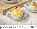 中秋節 傳統 月餅 42297825