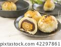 中秋節 傳統 月餅 42297861