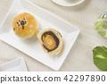 中秋節 傳統 月餅 42297890