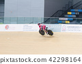 Indoor track cycling 42298164