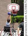 휠체어 농구 42298675