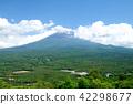 紅葉台에서 바라 보는 후지산과 아오키가하라 수해 42298677