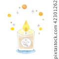 芳香蠟燭例證 42301262