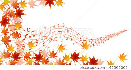 Autumn leaves autumn background - Stock Illustration [42302002 ...