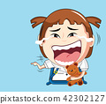 vector Illustration of cartoon 42302127