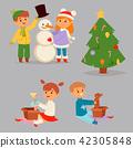 kid winter christmas 42305848
