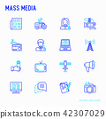 media, icon, tv 42307029