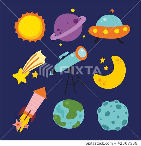planet vector collection design 42307539
