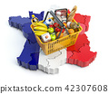 Market basket or consumer price index in France 42307608